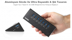 Dark Connect Master – 7 Port Usb 3.0 Çoklayıcı